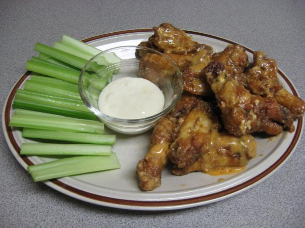 Red-Hot Cajun Blue Cheese Wings. Photo by Papa D 1946-2012