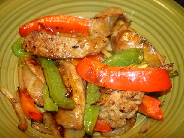 Italian Sausage and Peppers With a Kick. Photo by Vicki in CT