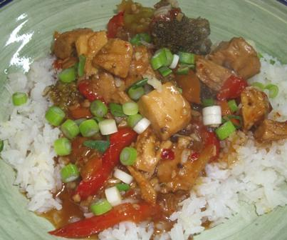 Bourbon Chicken. Photo by Karen Elizabeth