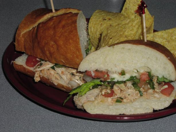 Chicken Tortas. Photo by TeresaS