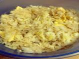 Kona K's Scrambled Eggs & Rice