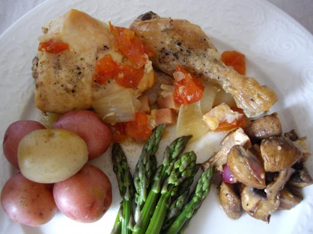 Portuguese Chicken Casserole. Photo by Sage