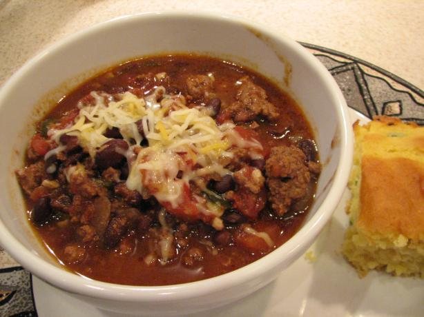 My Crock Pot Chili. Photo by Galley Wench