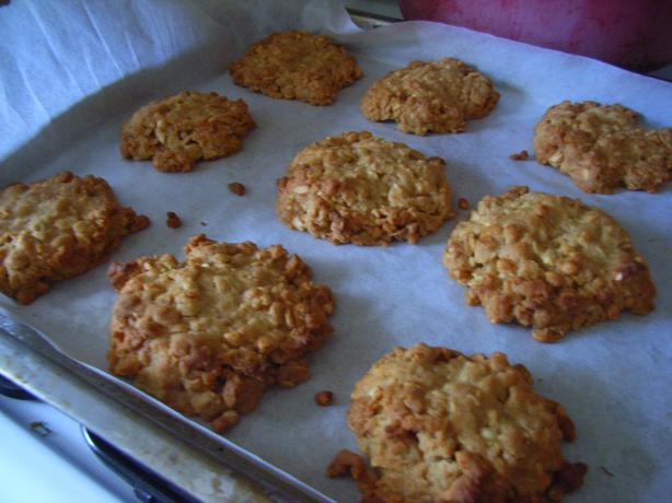 Anzac Biscuits With Macadamias (Australian). Photo by katew