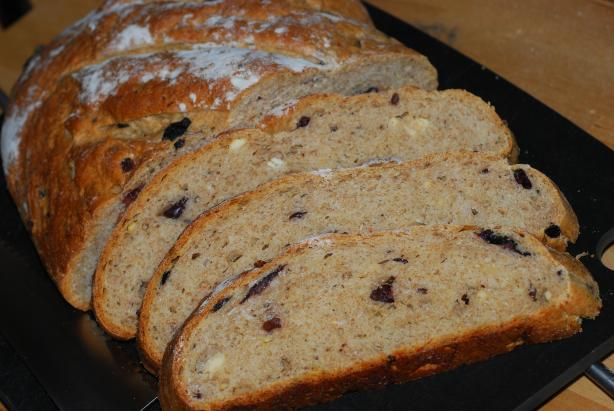 Mediterranean Black Olive Bread. Photo by Katzen