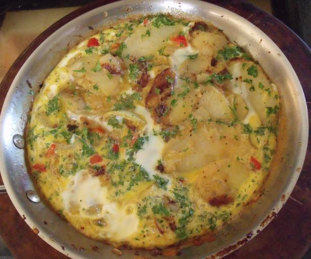 Spanish  Potato Omelet (Tortilla). Photo by Darkhunter