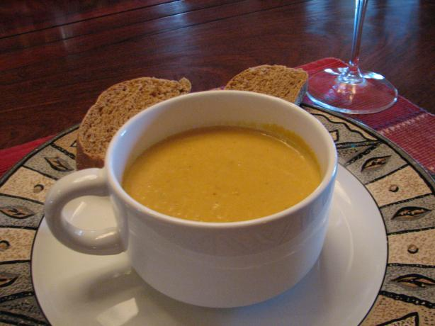 Creamy Pumpkin Soup (From Australia). Photo by Galley Wench
