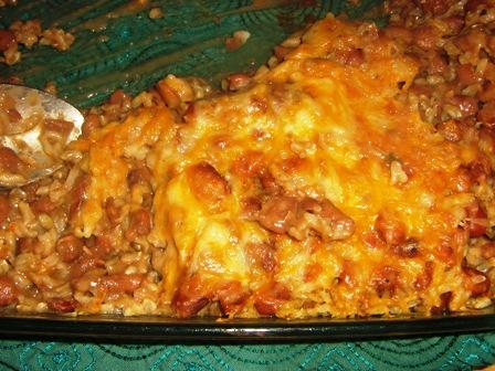 Pinto-Cheese Casserole. Photo by Jamilahs_Kitchen