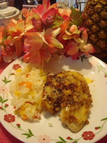 Macadamia Nut-Crusted Snapper With Mango Lime Butter. Photo by Marcasite Queen