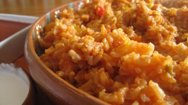Vegetarian Spanish Rice. Photo by magpie diner