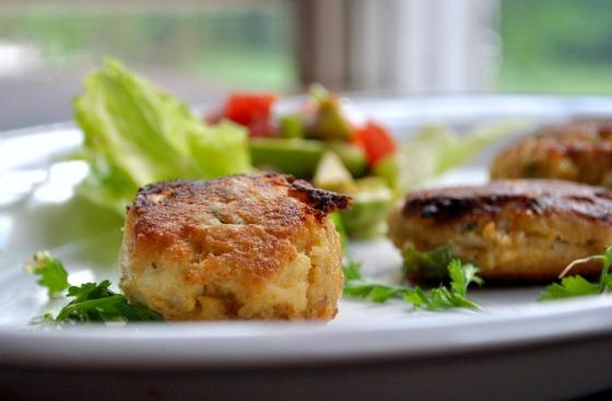 Mini Crab Cakes With Avocado Salsa. Photo by Andi of Longmeadow Farm