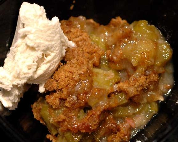 Classic Rhubarb Crisp. Photo by Sackville