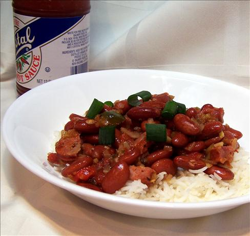 Weeknight Red Beans and Rice. Photo by PaulaG