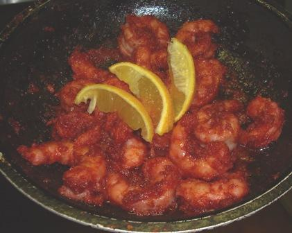 Chile-Fried Shrimp. Photo by Karen Elizabeth