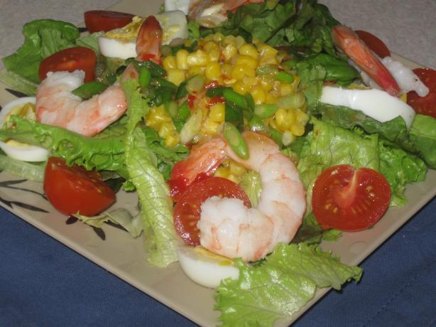 Beach Bar Special - Aussie Seafood Salad. Photo by CraftScout