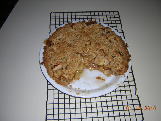 "Easy Dutch Apple Pie. Photo by Chef #1502519 ""Jacqi"""