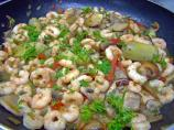 Shrimp & Mushrooms