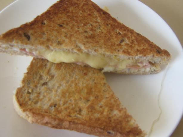 Smoked Ham and Cheese Toasties. Photo by I'mPat