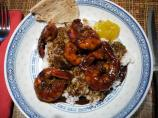 Madhur Jaffrey's Shrimp in the Maharashtrian Manner