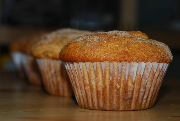 Amazing Apple Nut Muffins. Photo by Katzen