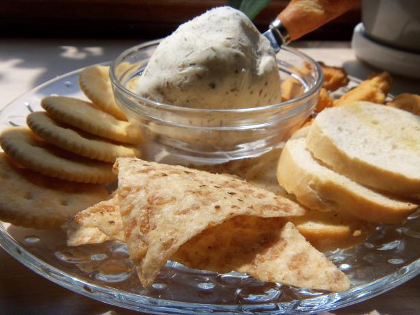 Garlic and Herb Cream Cheese (France). Photo by alligirl