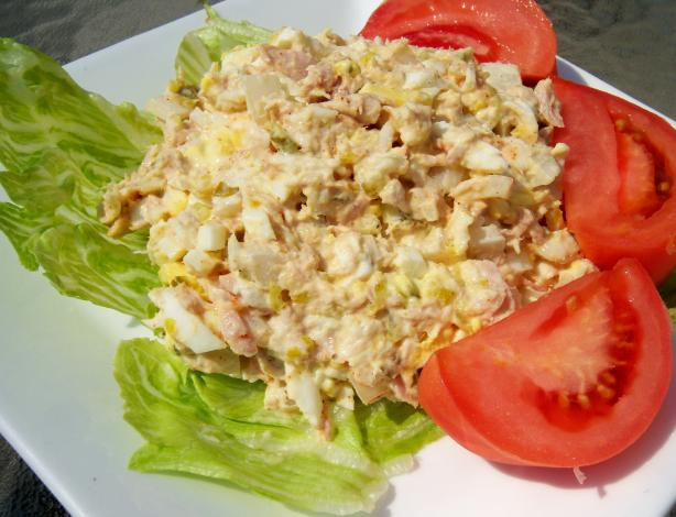 Dakota's Crab, Tuna & Egg Salad. Photo by *Parsley*