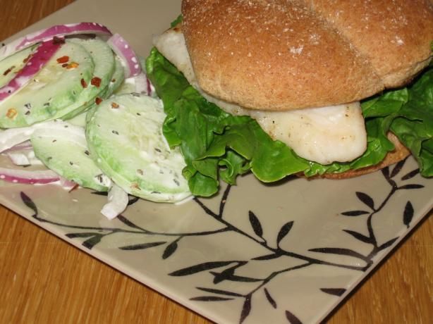 Catfish Sandwiches With Creole Mayonnaise. Photo by CraftScout