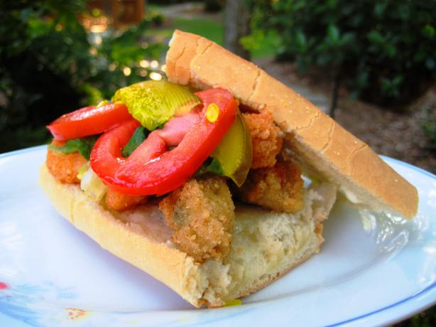 Oyster or Shrimp Po' Boys Aka Poor Boys (Cook's Illustrated). Photo by gailanng