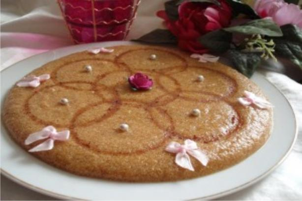 Tamina - Algerian Toasted Semolina & Honey Sweet. Photo by Um Safia
