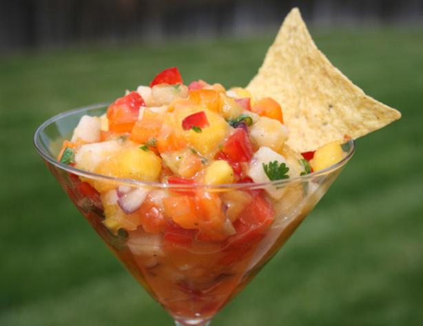 Tropical Treasure Mango Salsa by Ali Baba's Babes. Photo by **Tinkerbell**