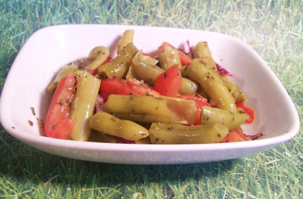 Green Bean Salad With Honey-Lime Dressing. Photo by Sharon123