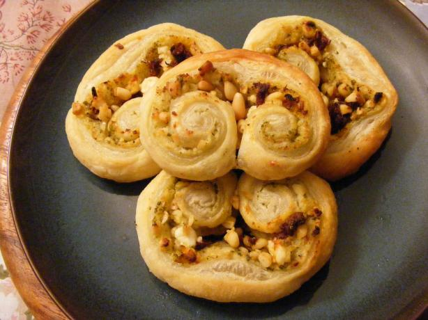 Savory Palmiers. Photo by Nancy's Pantry