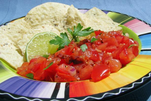 One Hellava Chipotle Salsa. Photo by lazyme