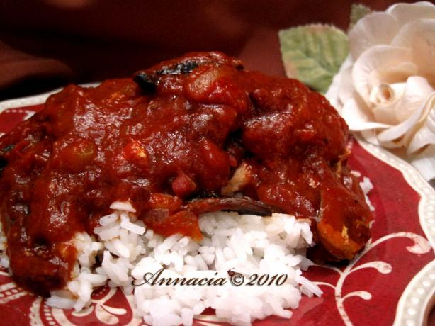 Chicken Cacciatore. Photo by Annacia