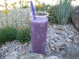 Healthy Blueberry Milkshake