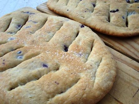 Olive Fougasse (Rustic Bread) -- Abm. Photo by Karen Elizabeth