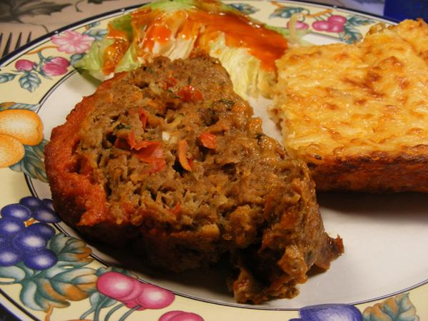 Italian Style Meatloaf. Photo by Lavender Lynn