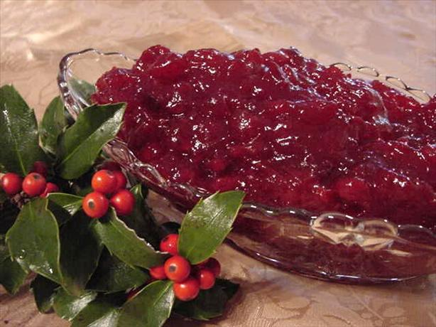 Whole-Berry Cranberry Sauce. Photo by Marg (CaymanDesigns)