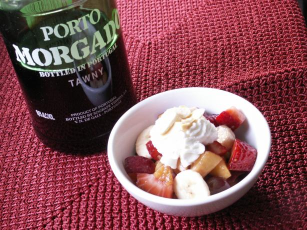 Fruit Salad With Port. Photo by JanuaryBride