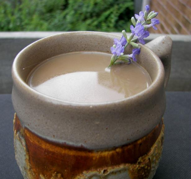 Lavender Coffee for 1. Photo by Baby Kato