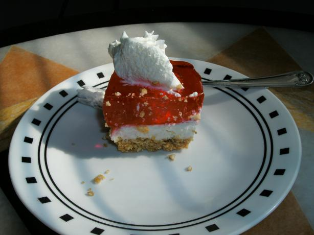 Strawberry Pretzel Salad. Photo by sweetcakes