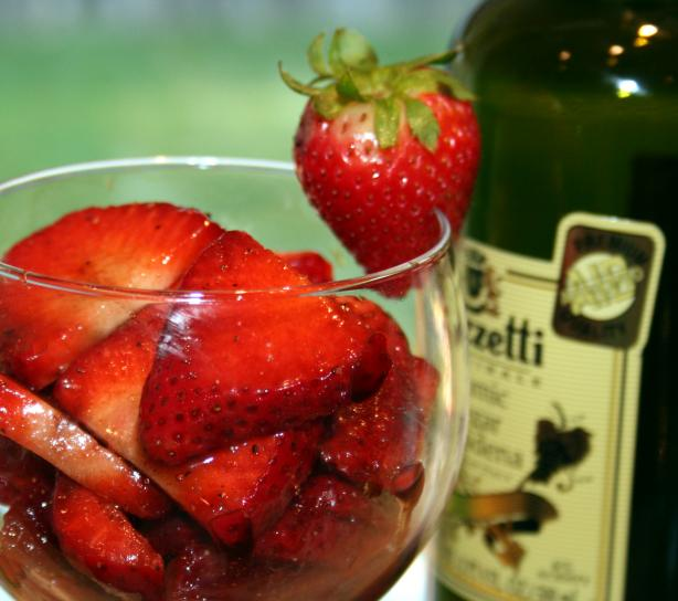 Balsamic Strawberries. Photo by **Tinkerbell**