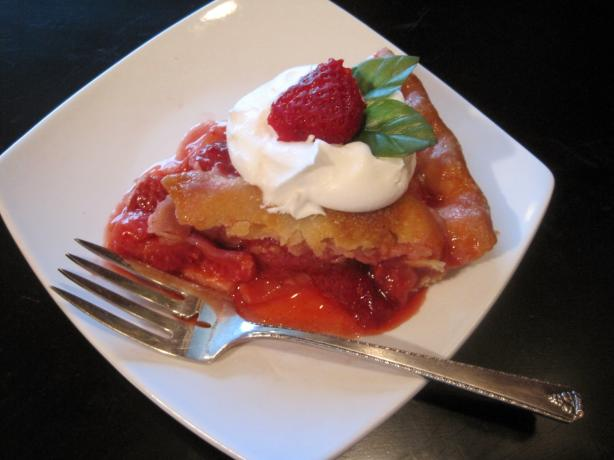 Old Fashioned Strawberry Pie. Photo by Lynn in MA