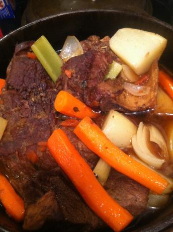 Simple Perfect Pot Roast. Photo by BarbryT