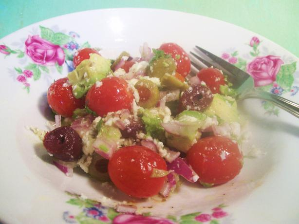 Avocado Tomato and Olive Salsa. Photo by Sharon123
