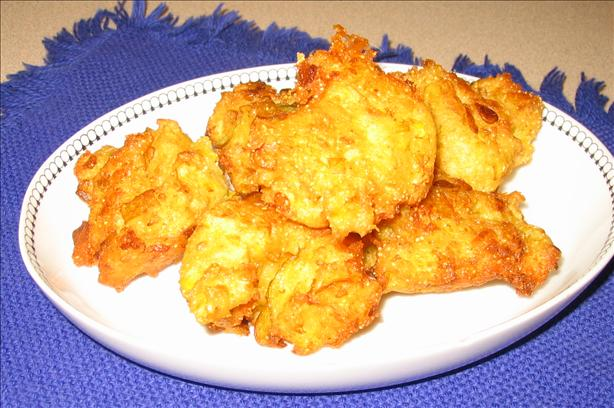 Yellow Squash Puffs. Photo by mary winecoff