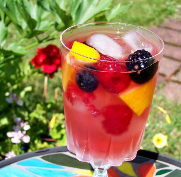 Crisp Berry Rose' Sangria. Photo by Rita~