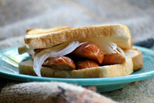 Hot Dog Sandwich. Photo by Andi of Longmeadow Farm