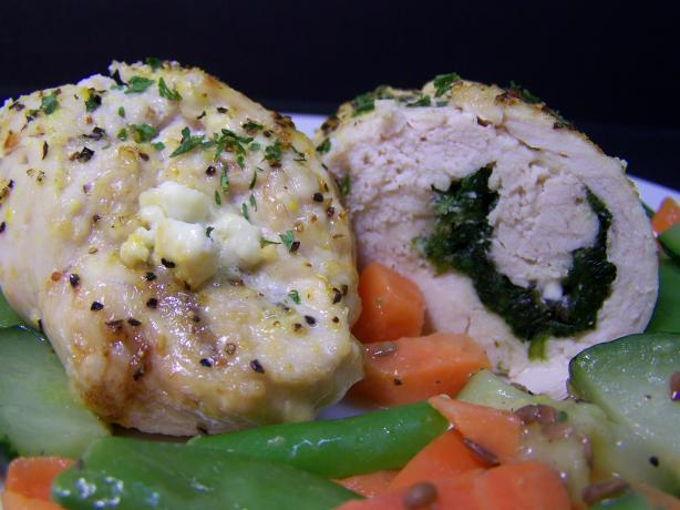 Spinach & Feta Stuffed Chicken Breasts. Photo by Diana #2
