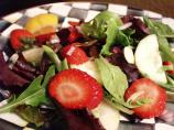 Strawberry Salad W/ Poppy Seed Dressing